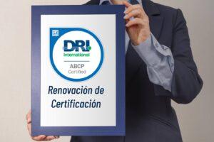 Renovación certificación ABCP