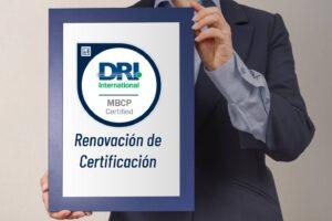 Renovación certificación MBCP